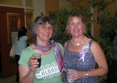 Albany @ 100 photographer, Dorothy Brown and Albany Historical Society President, Joan Larson