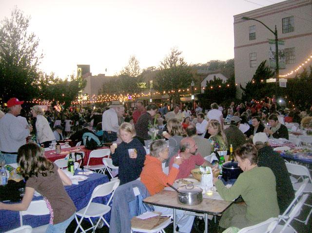Dinner with Albany, September 2008